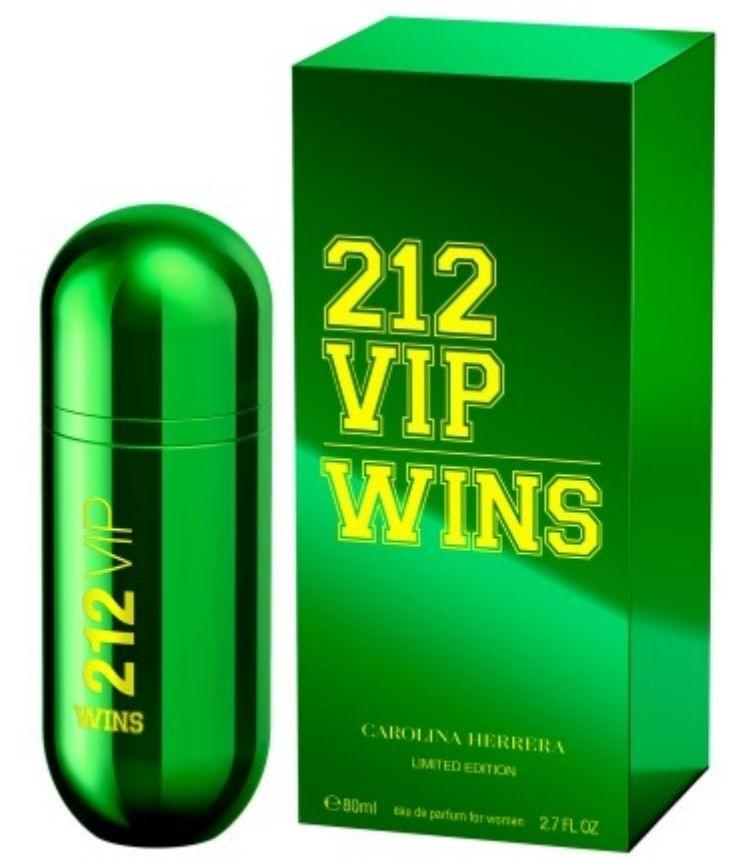 Carolina Herrera 212 Vip Wins Limited Edtion - Eau de Parfum - 80Ml