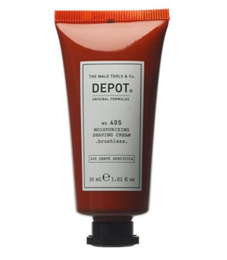 Depot N º 405 Moisturizing Shaving Cream  Brushless 125Ml