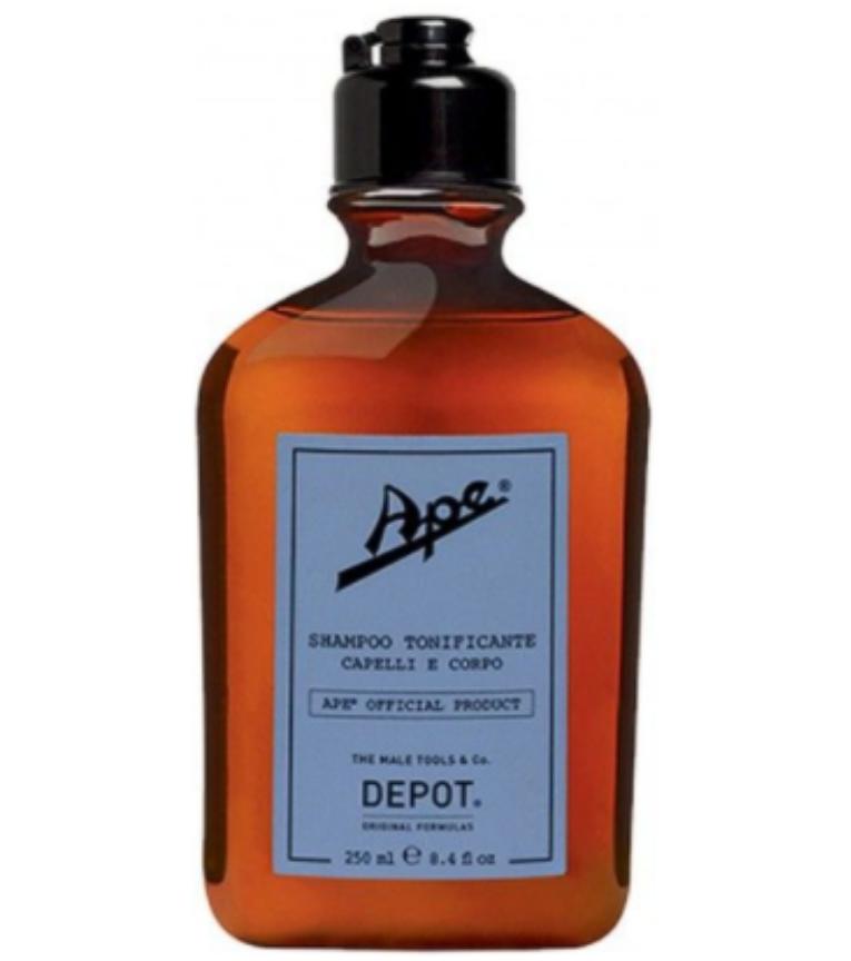 Depot Ape Shampoo Tonificante Capelli E Corp 250Ml